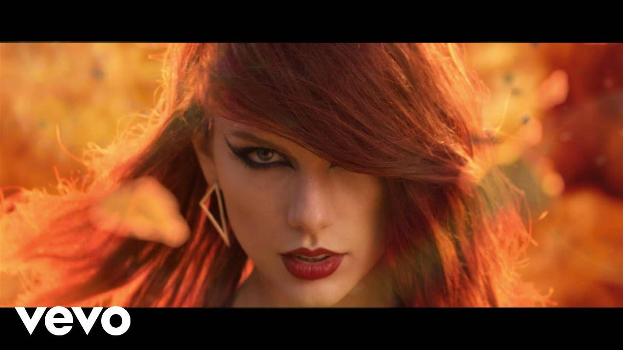 English Song 'Bad Blood' Sung By Taylor Swift