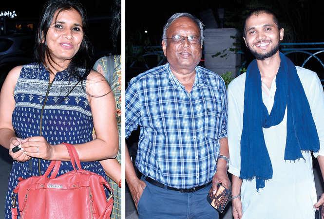 (L) Priyanka Singh (R) Rajesh Kumar and Privendra Singh (BCCL/ Vishnu Jaiswal)