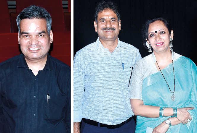 (L) Rajesh Agarwal (R) Sanjay and Gunjan Jain (BCCL/ Vishnu Jaiswal)
