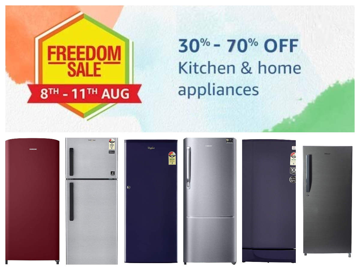 Amazon Freedom Sale: 10 refrigerators from Samsung, LG and others that you can get discounts on