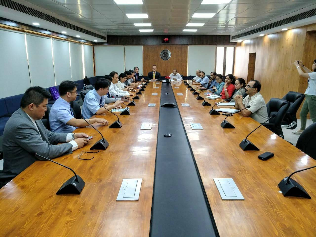 India-Taiwan Seminar at IITD for academic collaboration and research