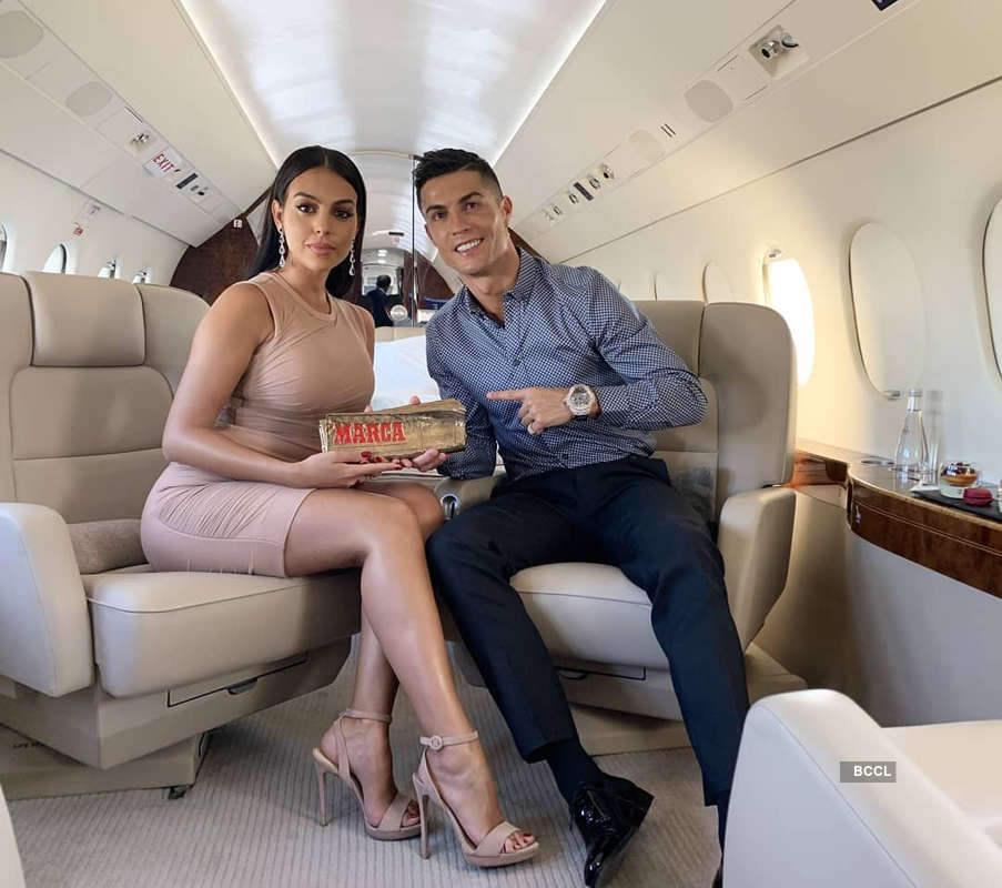 Personal pictures of lovebirds Cristiano Ronaldo & Georgina Rodriguez are too good to miss!