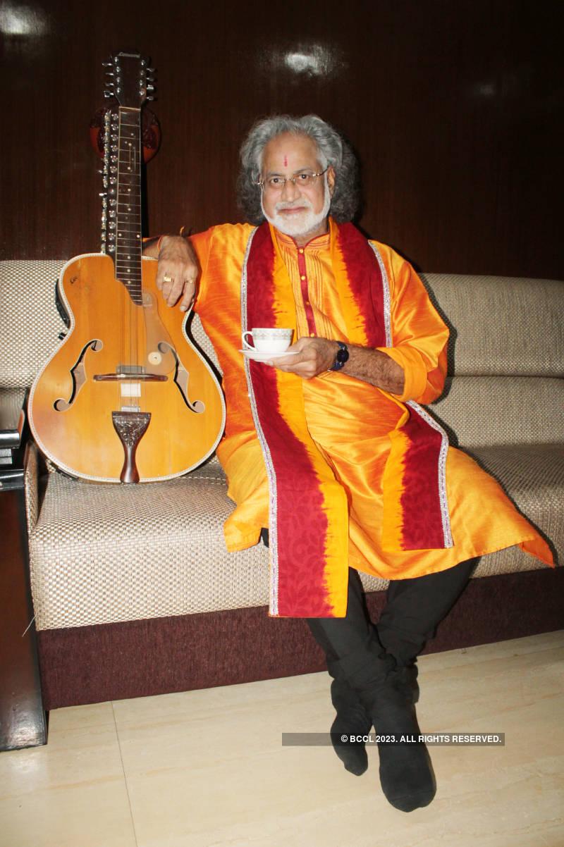 Pt Vishwa Mohan Bhatt's exclusive photoshoot