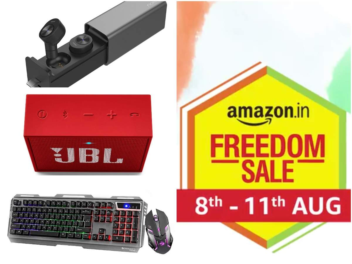 Last day of Amazon Freedom sale: 20 earphones, power banks and other gadgets available at Rs 1,999 and less