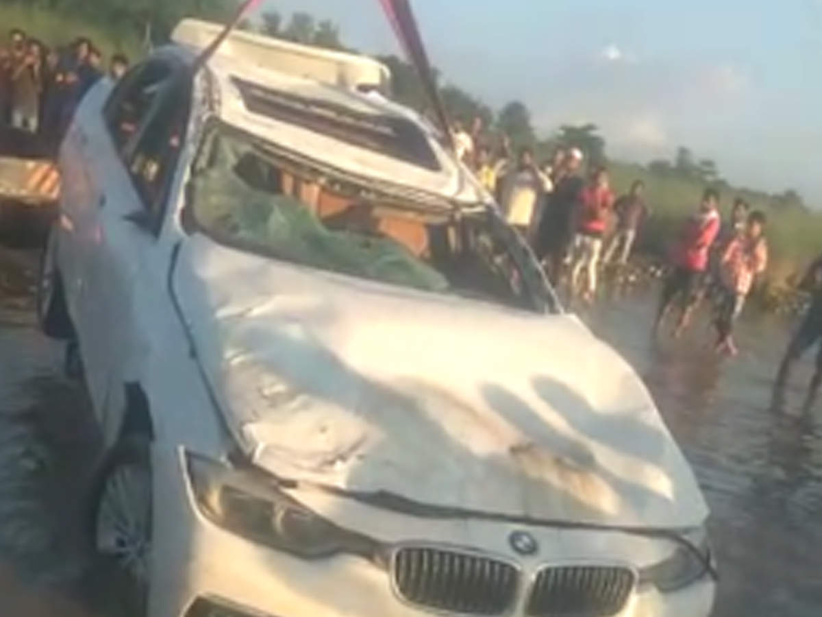 Haryana youth wanted Jaguar, 'dumps' BMW in canal