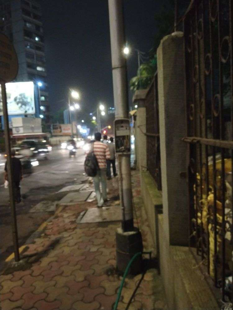Best electric street light pole main box is open  - Times of India