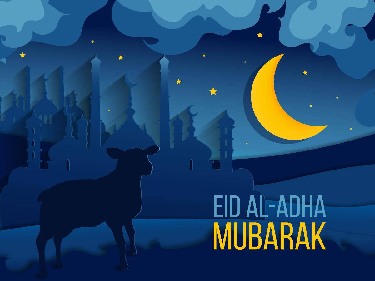 Eid-ul-Adha Bakra Eid Mubarak Photos, Images, Messages and Wishes