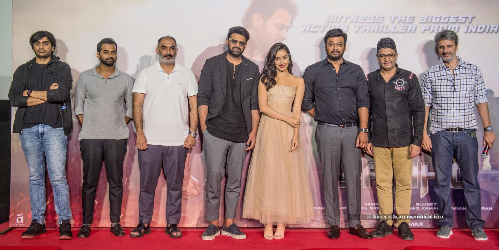 Saaho: Trailer launch