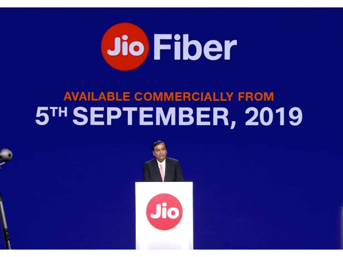 Reliance Jio GigaFiber rollout starts September 5: Subscribers to get 4K LED TV, set-top box free and more | Gadgets Now