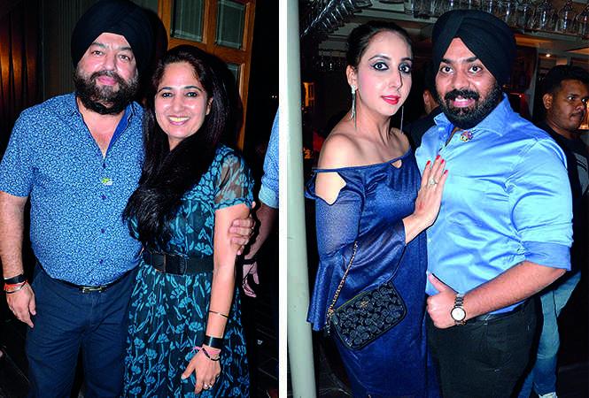 (L) Rajpreet and Chetna Singh (R) Reema and Harpreet Gandhi (BCCL/ IB Singh)