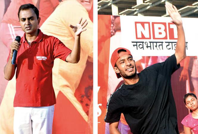 (L) Mohit Singh (R) Nitesh Tyagi (BCCL/ Farhan Ahmad Siddiqui)