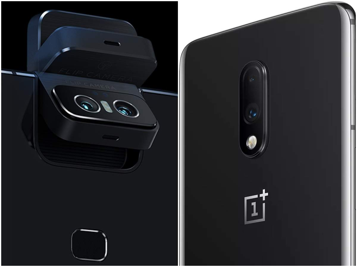 OnePlus 7 vs Asus 6Z: Which is better camera smartphone under Rs 35,000 | Gadgets Now