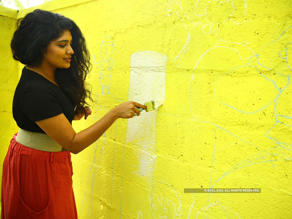 Samyukta Hornad gives a makeover to her adopted government school