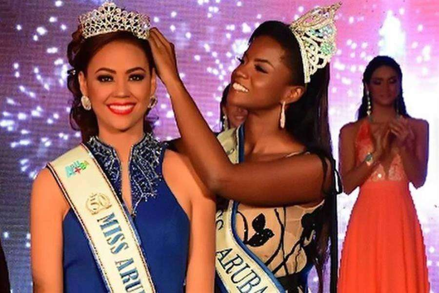 Ghislaine Mejia crowned Miss World Aruba 2019