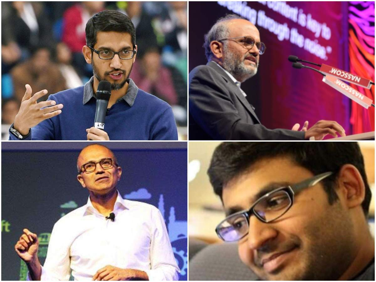 10 Indian-origin C-suite executives 'ruling' the global tech industry