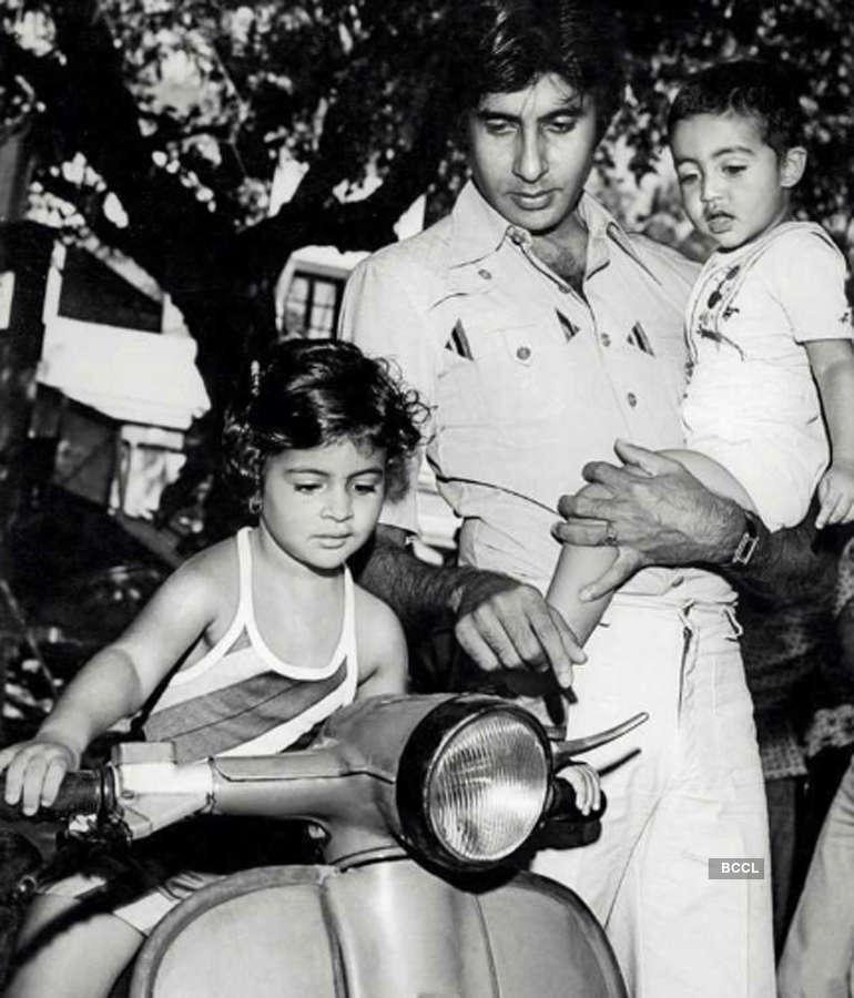 Amitabh Bachchan shares nostalgic pictures of Abhishek & Shweta on Raksha Bandhan