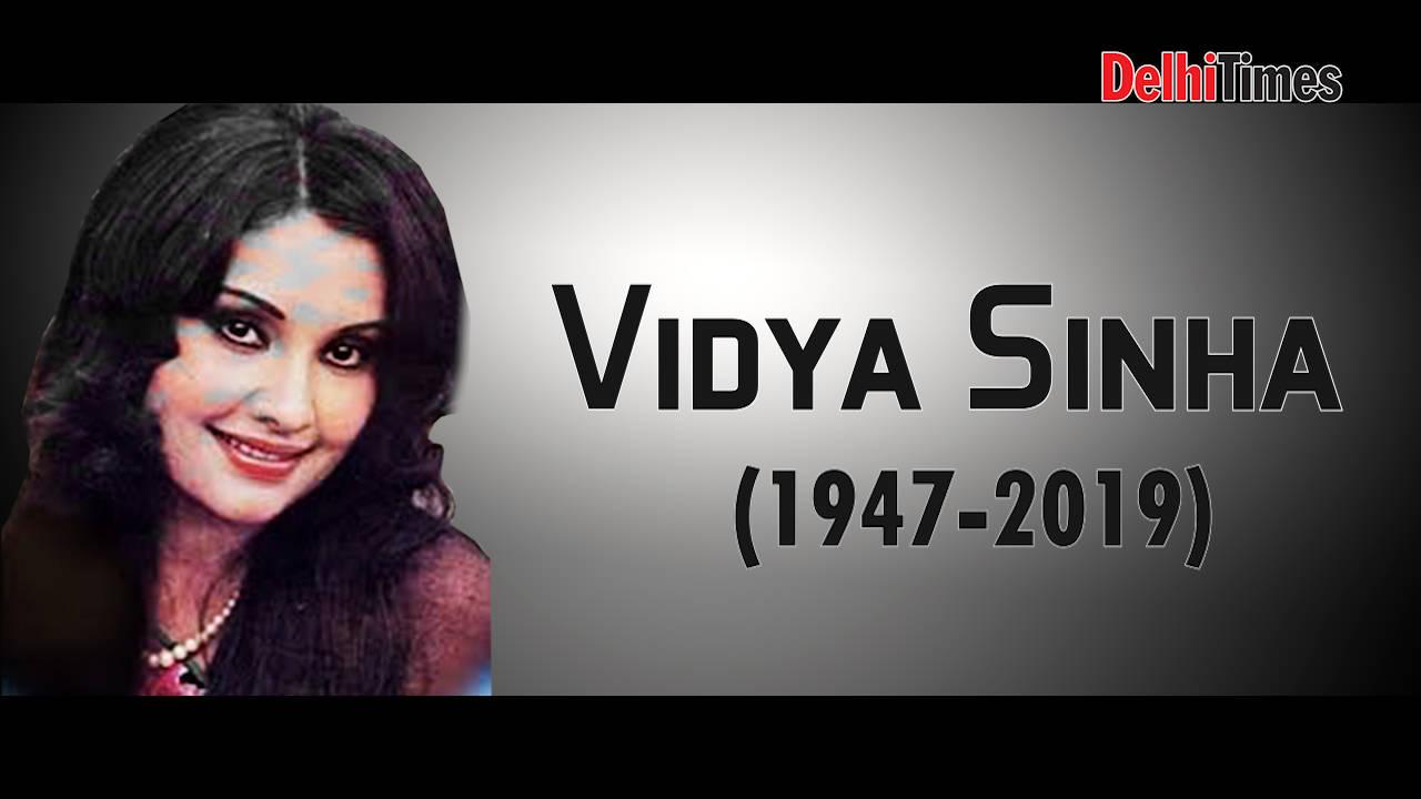 Vidya Sinha passes away in Mumbai