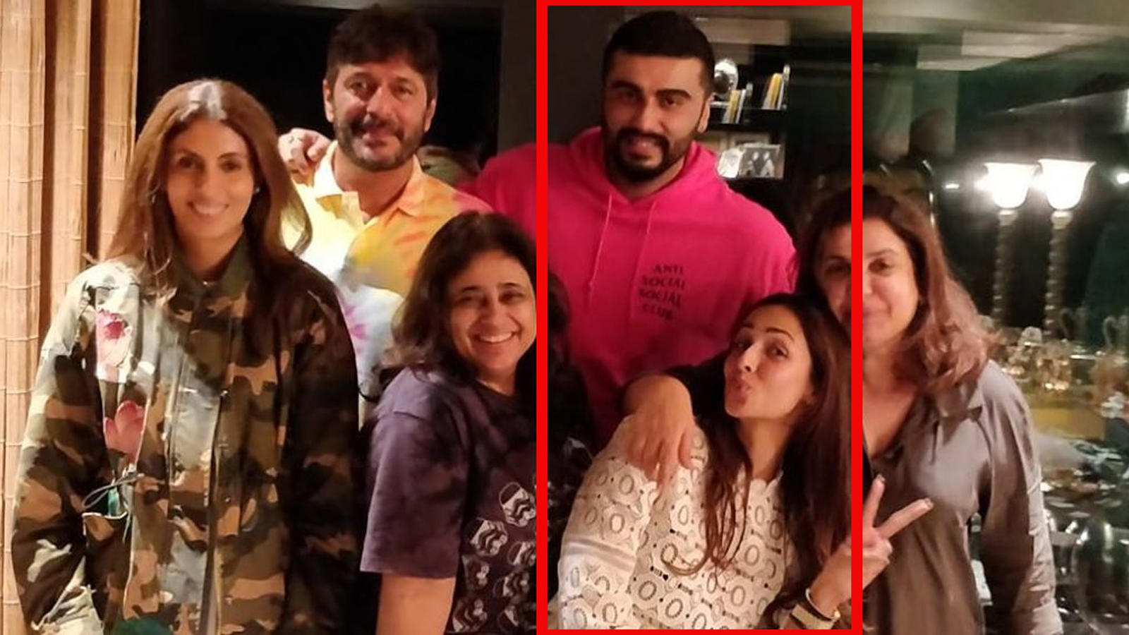Squad goals! Malaika Arora, Arjun Kapoor spend quality time with friends, pic goes viral