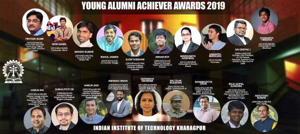 Changemakers, lawyers, filmmakers among 19 to get IIT Kharagpur's Young Alumni Achiever's Award 2019
