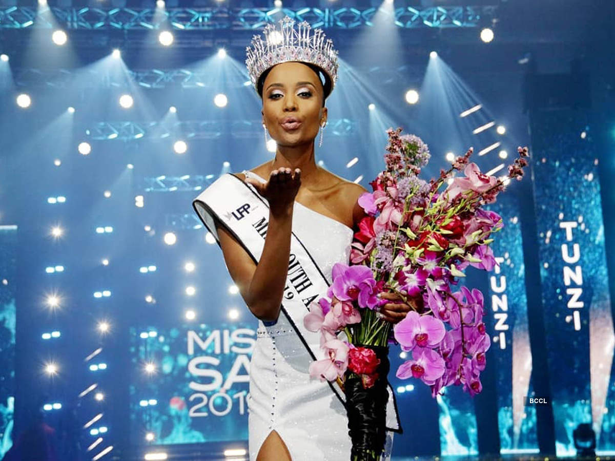 Zozibini Tunzi crowned Miss South Africa 2019