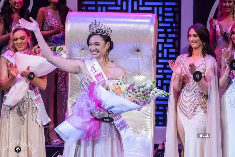 Diamond Langi crowned Miss Universe New Zealand 2019
