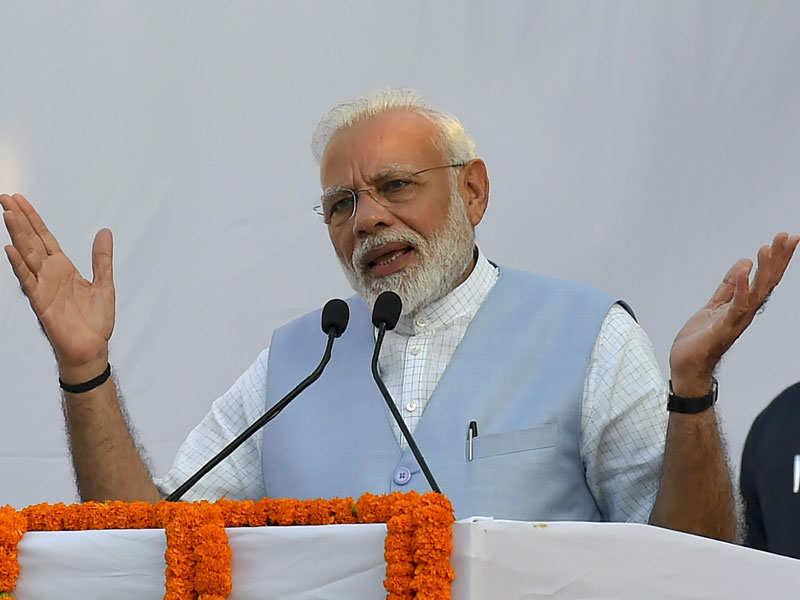 PM Narendra Modi inaugurates duplex flats for MPs at North Avenue