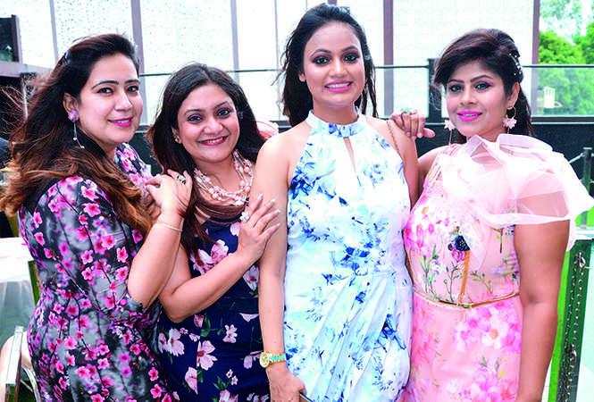 Chandani Arora, Shivika jain, Neelam Kesarwani and Kanchan Gupta (BCCL/ IB Singh)