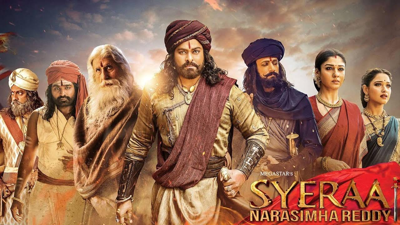 Sye Raa Narasimha Reddy Movie Review {3/5}: A brave effort let down by  uninspiring storytelling