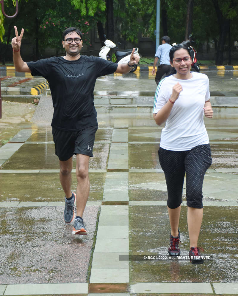 IIMians run for a healthy cause