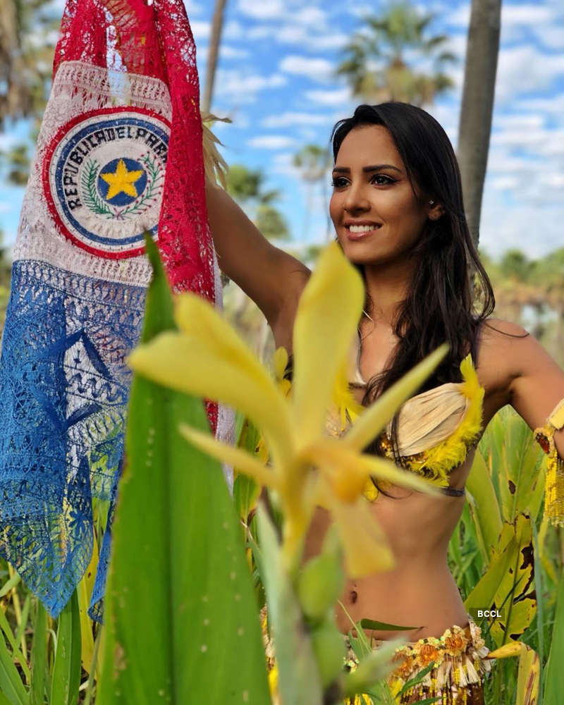 Jociani Daisy Repossi crowned Miss Earth Paraguay 2019