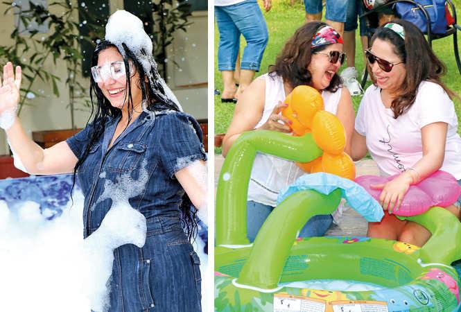 (L) Ankita Khatry (R) Ashwin and Dr Shweta Chakravarty (BCCL/ Unmesh Pandey)