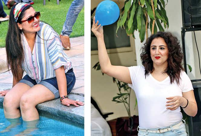 (L) Nancy Batra (R) Pari Beri (BCCL/ Unmesh Pandey)