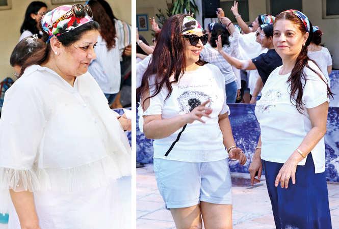 (L) Sangeeta Mehra (R) Sunita Bhambri and Alka Beri (BCCL/ Unmesh Pandey)