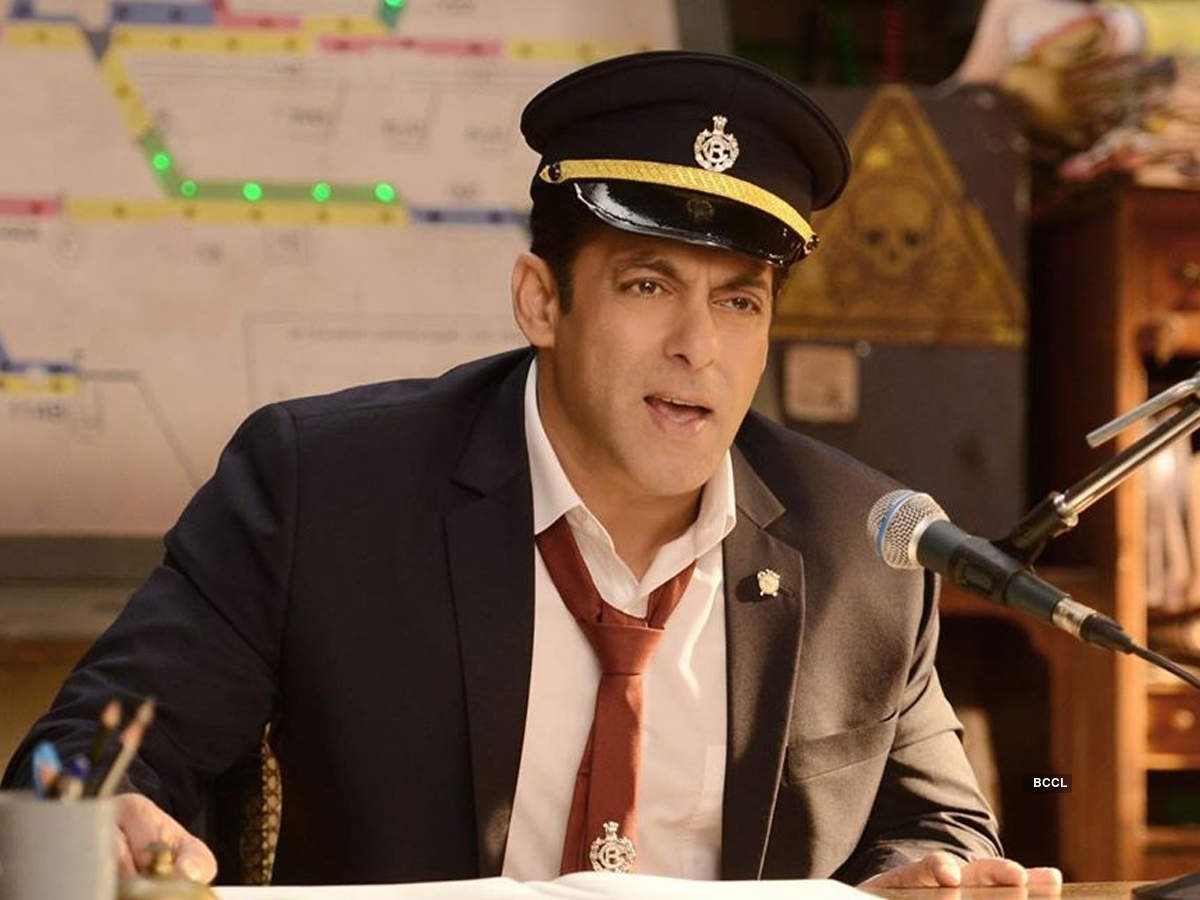 Bigg Boss 13: Host Salman Khan turns railway station master