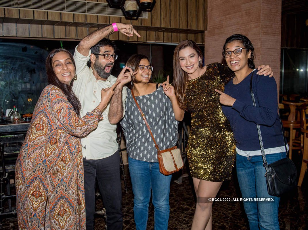 Celebrities attend Gauahar Khan's starry birthday party