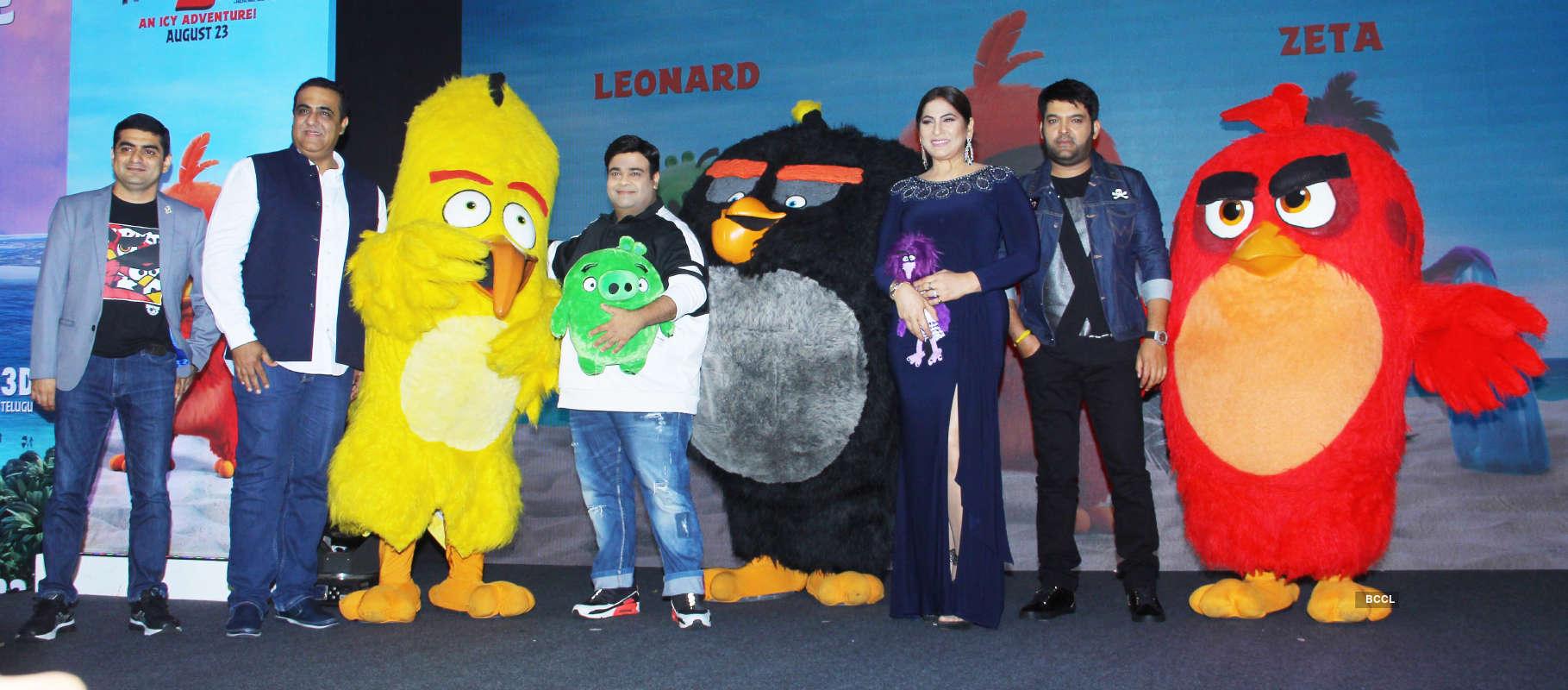 Angry Birds 2: Hindi trailer launch