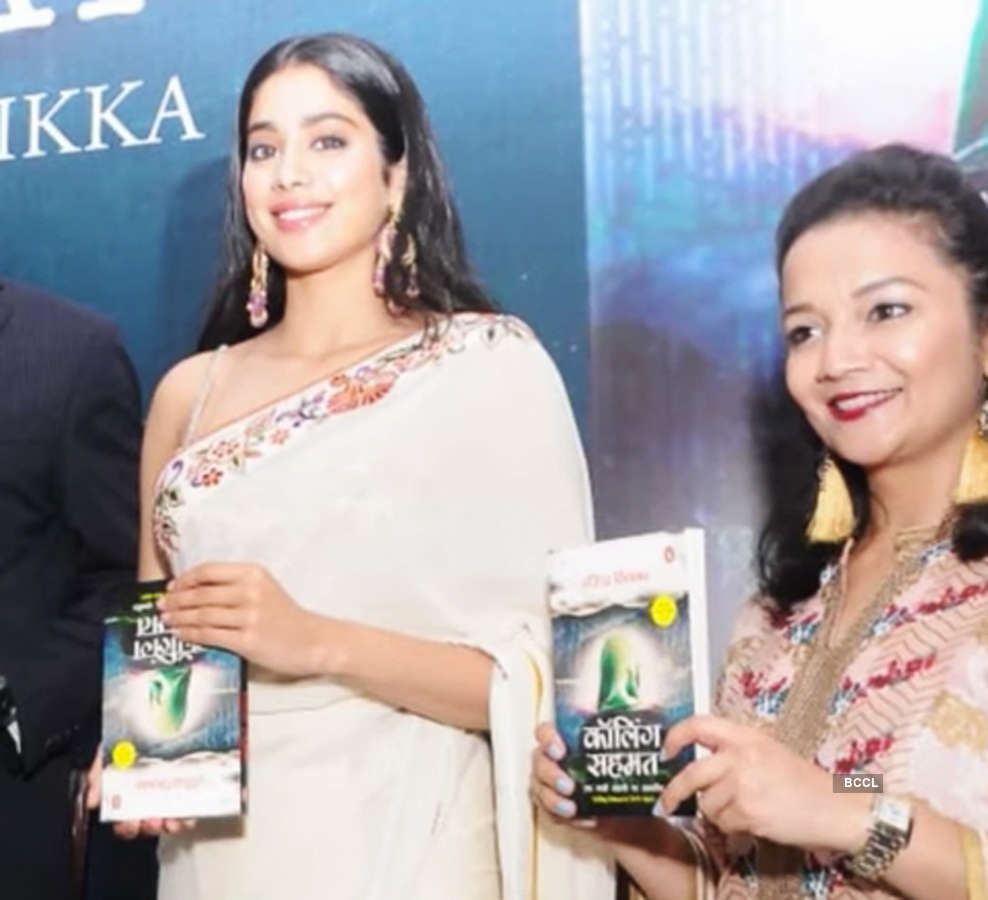 Janhvi Kapoor trolled for holding book upside down at launch event