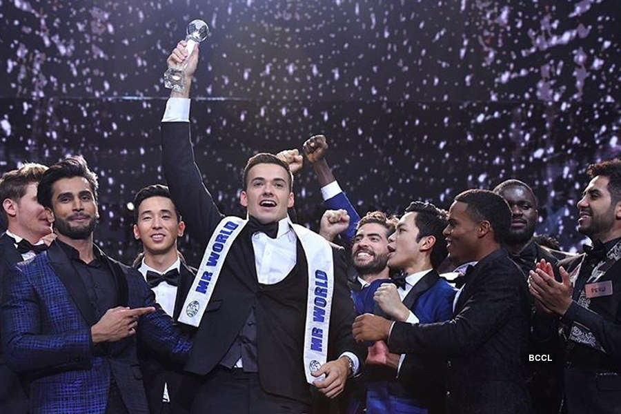 Jack Heslewood of England is Mr. World 2019