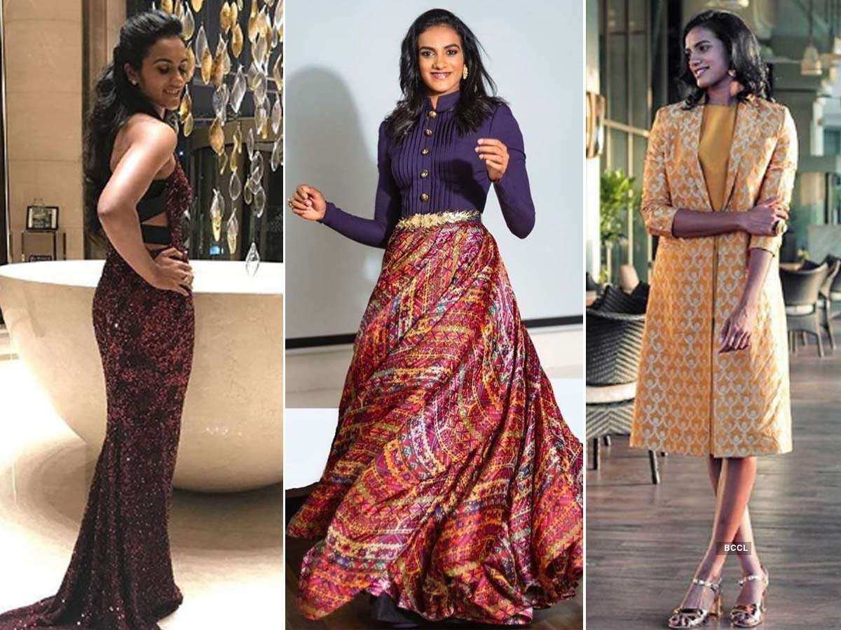 PV Sindhu shows off her fashion-savvy side in these stunning pictures