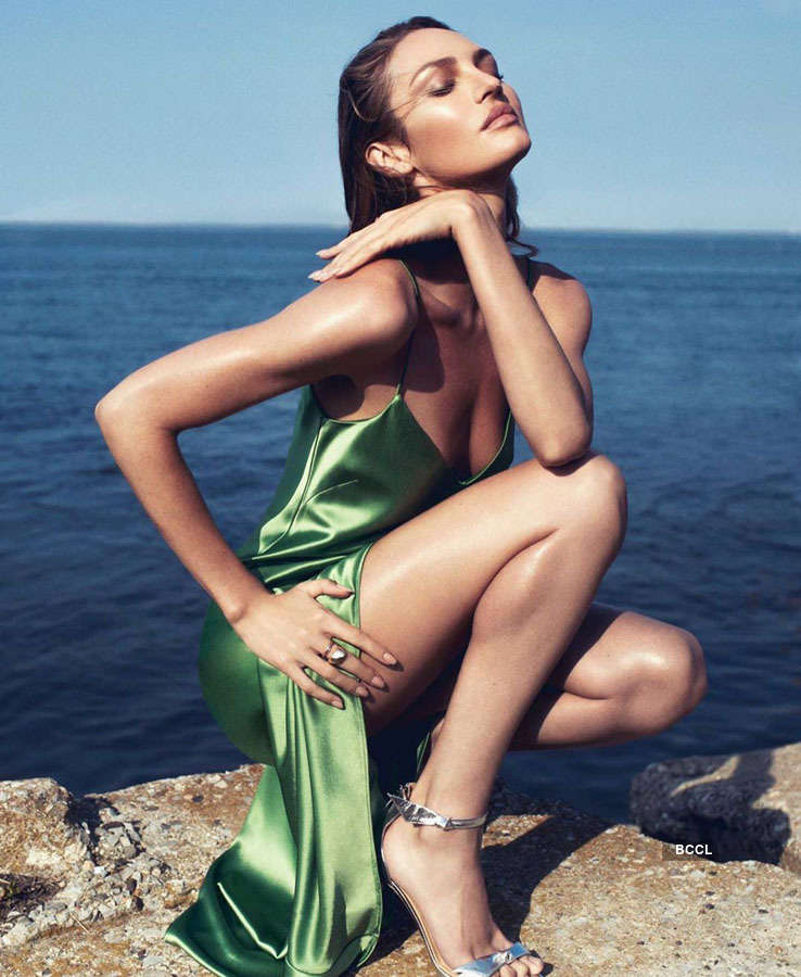 Candice Swanepoel flaunts her flawless personality for photoshoots