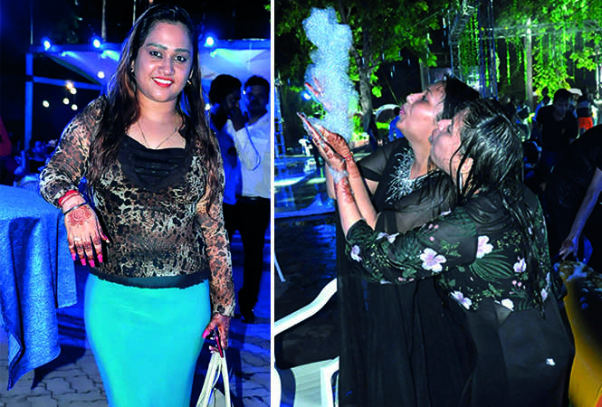 (L) Aditi Srivastava (R) Ankita and Swati Maheshwari (BCCL/ AS Rathor)