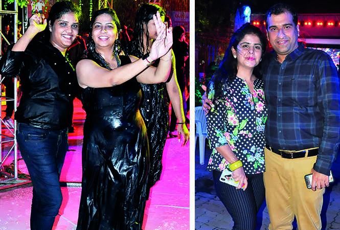 (L) Nitya Chawla and Iti Gupta (R) Ruchi and Vijay Mahendru (BCCL/ AS Rathor)