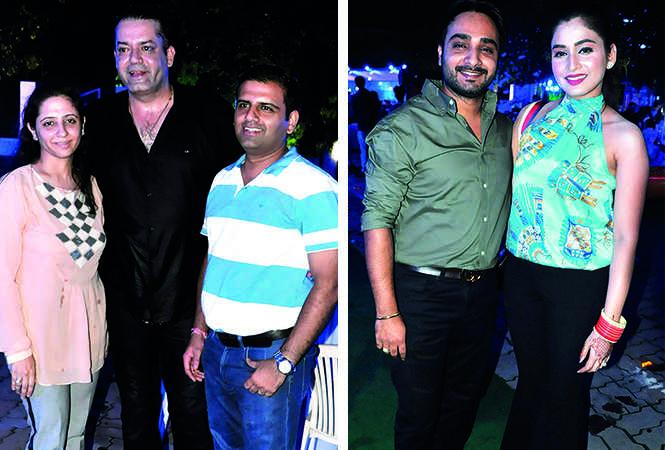(L) Radhika Mahana, Karan Mahana and Varun Soin (R) Taran and Palak (BCCL/ AS Rathor)