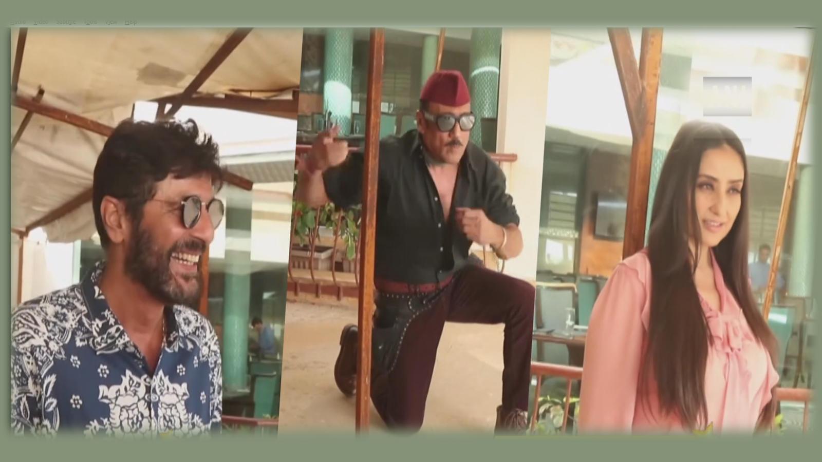 Bollywood's veteran actors Jackie Shroff, Manisha Koirala and Chunky Panday clicked in Mumbai