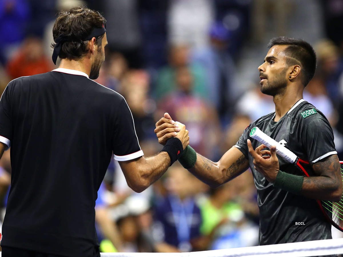Sumit Nagal, the Indian tennis player who stunned Roger Federer in US Open