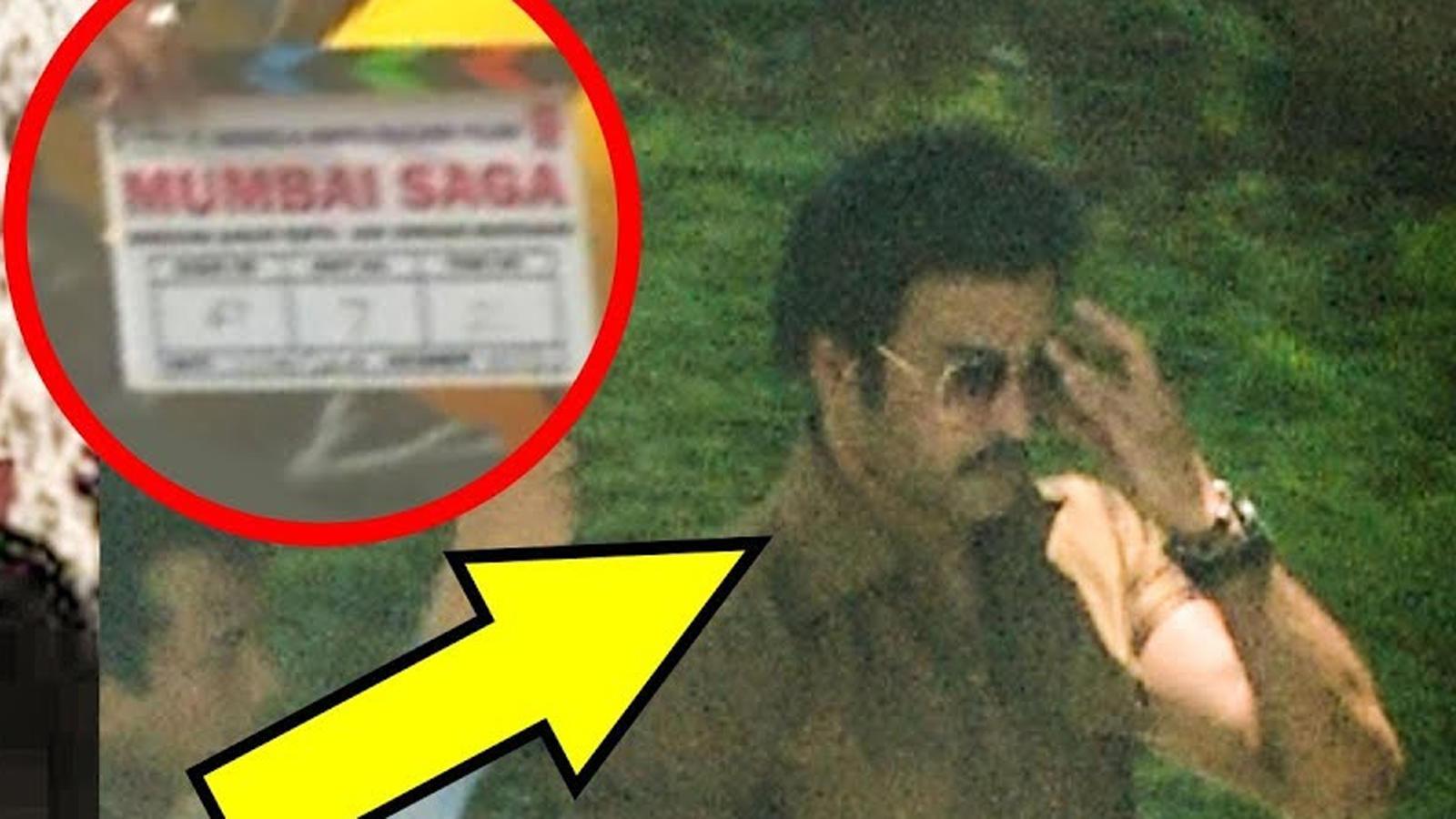 Leaked! John Abraham's first look as villain from 'Mumbai Saga'