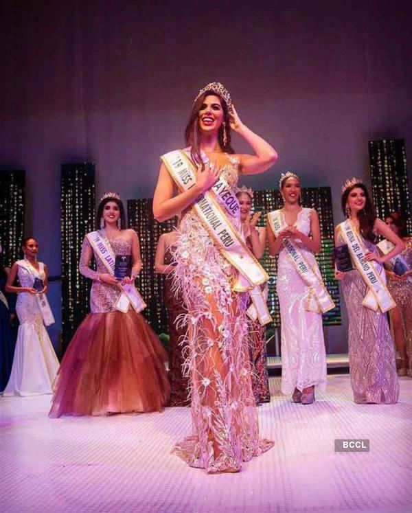 Majo Barbis crowned Miss International Peru 2019