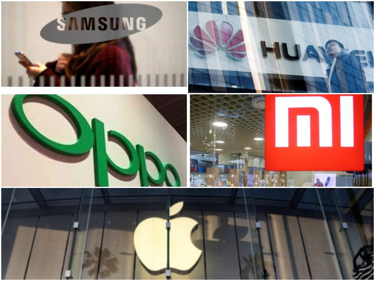 World's 5 biggest smartphone companies: Who gained, who lost