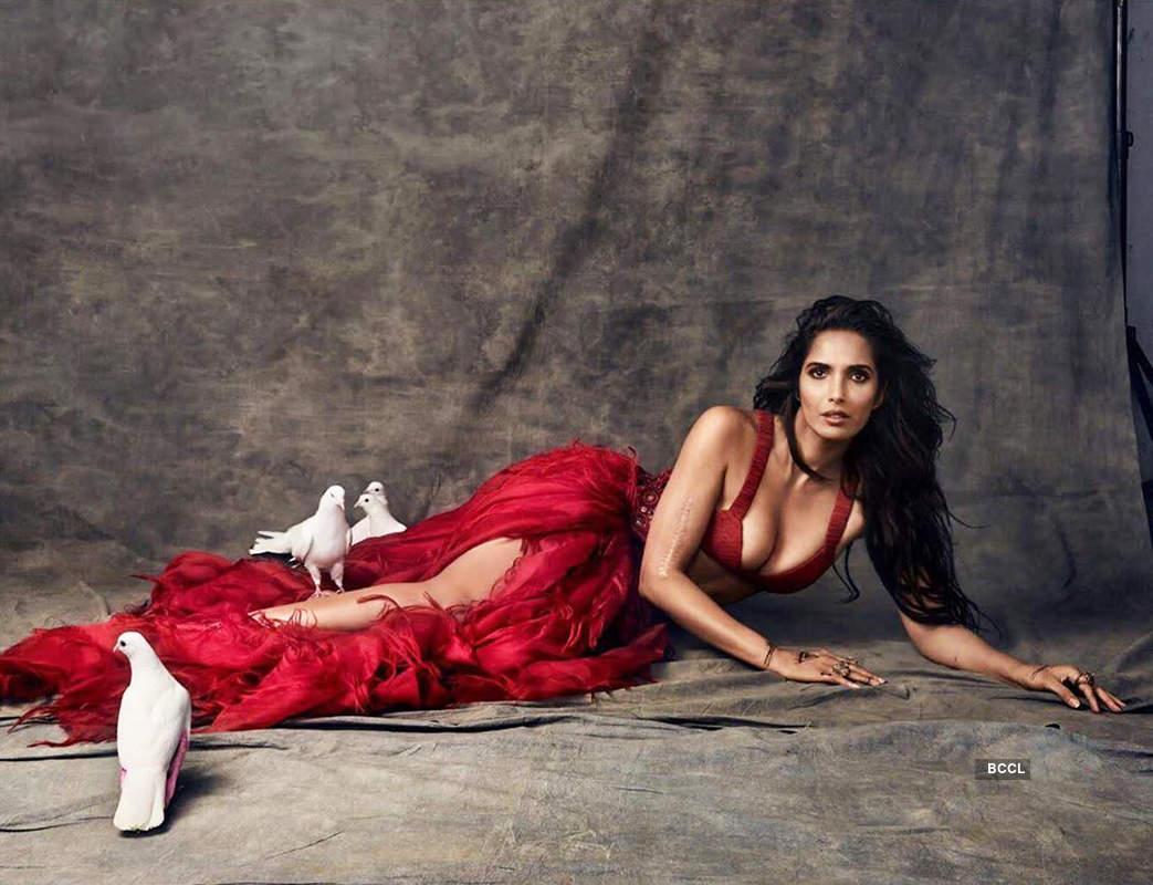 Padma Lakshmi is making temperatures soar