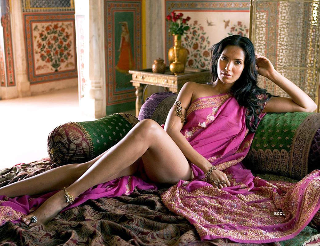 Padma Lakshmi is making temperatures soar